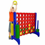 4 X 3 Feet Large Giant Connect 4 Four Yard Outdoor Fun Party Game For Adult Kid