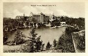 Postcard Usa Mohonk Lake, Ny With 1 Cent Stamp Black And White Postmark 1914