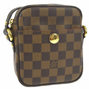 Louis Vuitton Rift Cross Body Shoulder Bag Damier N60009 Sr0016 Ak38228k