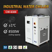 Recirculating Closed Loop Water Chiller Cw-6300 Cooling Capacity 8500w 220v/380v