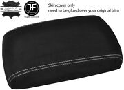 Grey Stitching Armrest Real Suede Cover For Subaru Tribeca B9 2008-2014