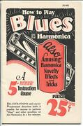 How To Play Blues On The Harmonica M464 1928-tricks-shortcuts-vf