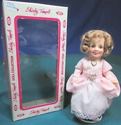 """Vintage Shirley Temple Doll 8"""" 1982 - Ideal Collectors Doll – Good Cond"""
