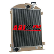 4 Row Aluminum Radiator For 28-31 Ford Model-a Ford Grill Shells Ford Engine Pro