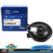 Genuine Horn Low Pitch For 2012-2013 Hyundai Veloster Oem 9661043500⭐⭐⭐⭐⭐