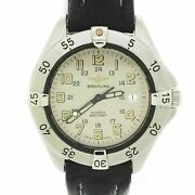 Rare 1992 Breitling Military Colt Stainless Steel 38mm Watch A50035