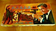 Unique Vintage Greek Hardboard Litho Board Game - The Man From Uncle - From 60s