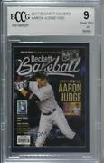 2017 Beckett Covers National Convention /1000 Aaron Judge Bccg Near Mint Rookie