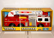 Tonka Spartans Firetruck Fire Engine Firefighter Truck 328 Rescue Red Vehicle