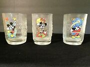 Disney Collector Glasses Year 2000 Made For Mcdonalds