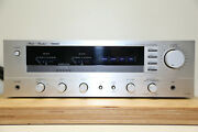Studio-standard By Fisher Ca-660 Vintage Hifi Stereo Amplifier In Silber All Ok.