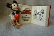 Disney Display Plaque Mickey Mouse In Steamboat Willie Goebel Archive