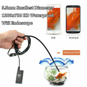 5.5mm 720p Hd Wifi Inspection Camera Endoscope For Iphone Samsung Galaxy S10 S9+