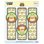 Hamster Eating Stash Of Food Set Of 3 Glossy Laminated Bookmarks