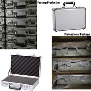 Small Aluminum Hard Gun Storage Cases Hunting Pistol Carrying Case Office Boxes