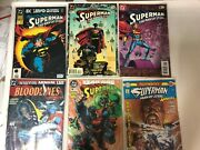 Superman Man Of Steel Comic Lot 0 1-133 Out Of 134 Near Complete 18 Doomsday