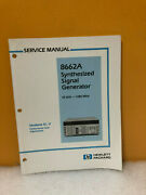Hp 8662a Synthesized Generator Service Manual