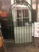 Arched Spanish Style Pedestrian Gate 74x42