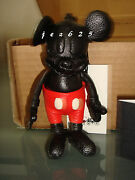 Disney Coach 1941 Limited Ed Mickey Mouse Leather Doll Key Chain Fob Last One
