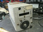 Signal Corps Radio Transmitter Us Army Bc-458-a Western Electric