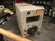 Western Electric Bc-696-a Us Army Radio Transmitter Signal Corps Wwii