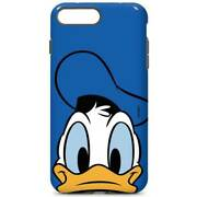 Mickey And Friends Iphone 7 Plus Pro Case - Donald Duck Up Close