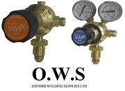 Pair Of Oxygen And Propane Single Stage Regulators For Gas Cylinders