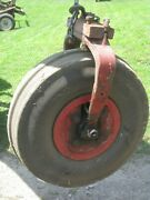 Ih Farmall Single Front Wheel For F12 Or F14 Tractor With Tire And Block