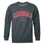 Ball State University Cardinals Bsu Ncaa Crewneck Sweater - Officially Licensed