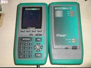 Offered As-is Can't Boot Up Fluke Omniscanner 2 Lan Cable Analyzer