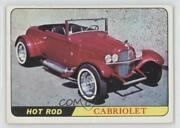 1966 Topps Hot Rods And Custom Cars Cabriolet 6 0q3