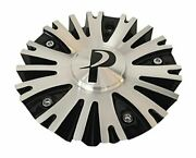 Phino Wheels Pw10 Cspw10-1a Black And Machined Center Cap