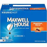 Maxwell House Breakfast Blend Coffee 100 To 200 Kcup Pick Any Quantity Free Ship