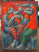 Yuroz Concert On The Beach Serigraph Unframed Signed Numbered