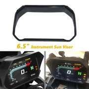 Motorcycle 6.5 Instrument Sun Visor Protective Cover Abs Universal
