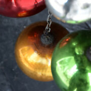 Collection Of Early 20th Century Mercury Glass Witches Balls