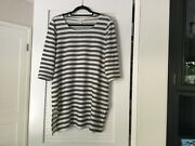 Eileen Fisher Stripped Tunic Size M