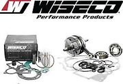Yamaha Yz80 And03993-01 Wiseco Complete Engine Rebuild Kit W/ Hour Meter Pwr122-100