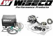Yamaha Yz125 And03998-00 Wiseco Complete Engine Rebuild Kit W/ Hour Meter Pwr124-100