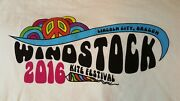 Two Lincoln City Oregon Kite Festival Windstock Novelty T-shirts Mens Xl Nice