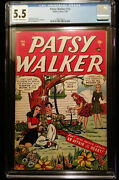 1948 Timely Comics Patsy Walker 14 Cgc 5.5 Off White To White Pages