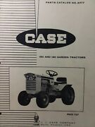 Case J.i. 150 190 Hydraulic Drive Compact Garden Lawn Tractor Parts Manual Colt