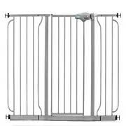 Regalo 49 Inch Easy Step Extra Wide Walk Thru Baby And Pet Safety Gate Platinum