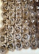 Gorgeous Fur Throw, Truly One Of A Kind, Very Rare