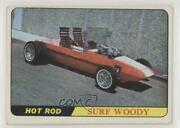 1968 Topps Milton Bradley Hot Rods And Custom Cars Win-a-card Game Surf Woody 0n8