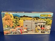 Faller Germany Ho Scale Trains Workshop With Lorry Scrap Yard Kit 130350 New
