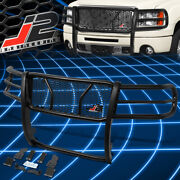 J2 Engineering For 07-13 Gmc Sierra 1500 Front Bumper Grille Grill Brush Guard