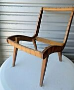 1950s Production Jens Risom Lounge Chair Frame For Knoll