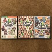 The Sims 3 Pc W/ 2 Expansion Packs - Starter Pack 3 Games In 1 And Island Paradise