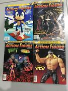 Lot Of 4 Tomart's Action Figure Digest   Issues 58 - 70   1998 - 1999